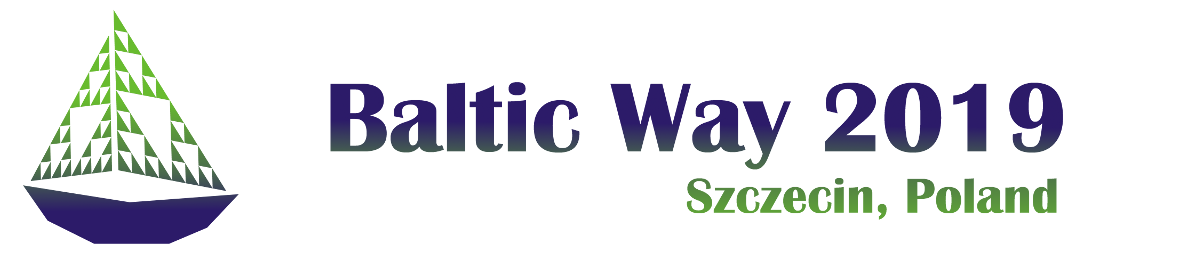Official Baltic Way 2019 logo